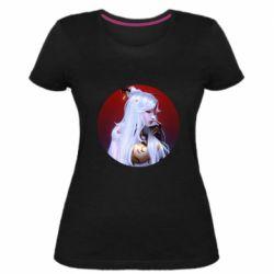 Жіноча стрейчева футболка Genshin Impact Ningguang
