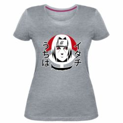 Жіноча стрейчева футболка Itachi Art