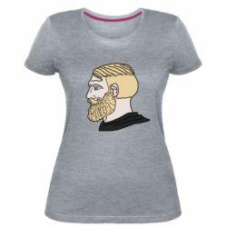 Жіноча стрейчева футболка Meme Man Nordic Gamer