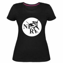 Жіноча стрейчева футболка Nerv