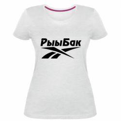Жіноча стрейчева футболка Reebok РыыБак