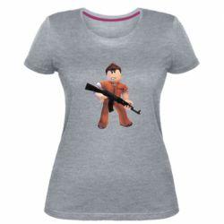 Жіноча стрейчева футболка Roblox Prisoner