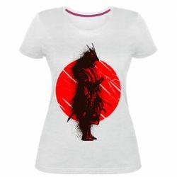 Жіноча стрейчева футболка Samurai spray