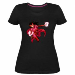 Жіноча стрейчева футболка Scarlet Witch comic art