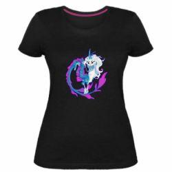 Жіноча стрейчева футболка Sisu Dragon Art