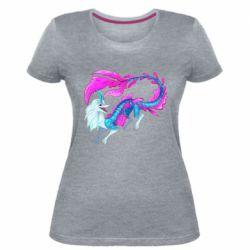 Жіноча стрейчева футболка Sisu Water Dragon