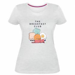 Жіноча стрейчева футболка The breakfast club