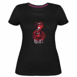 Жіноча стрейчева футболка Yumeko Jabami
