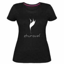 Жіноча стрейчева футболка Zhuravel