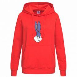 Толстовка жіноча Bugs Bunny Meme Face