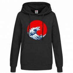 Толстовка жіноча Godzilla Wave