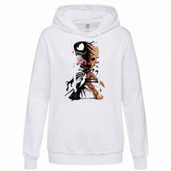 Толстовка жіноча Groot and Venom