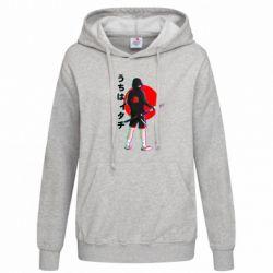 Толстовка жіноча Itachi in modern clothes