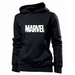 Женская толстовка Marvel logo and vine
