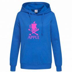 Женская толстовка Pirate Apple