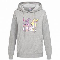 Толстовка жіноча Rabbits In Love