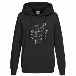 Толстовка жіноча Rock rabbit