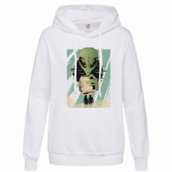 Толстовка жіноча Alien with a can
