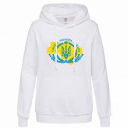 Толстовка жіноча Україна Мапа