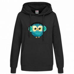 Женская толстовка Winter owl