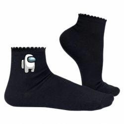 Жіночі шкарпетки Astronaut Among Us