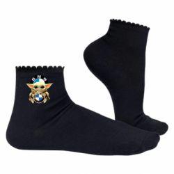 Жіночі шкарпетки Baby yoda bmw
