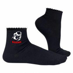 Жіночі шкарпетки Boxing