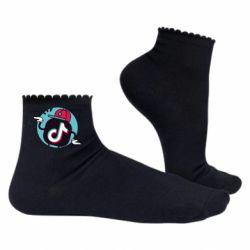 Жіночі шкарпетки Dancing Tik tok