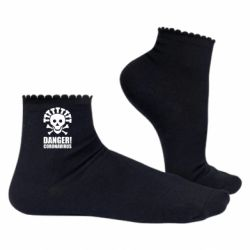 Жіночі шкарпетки Danger coronavirus!