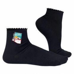 Жіночі шкарпетки Desert and cacti