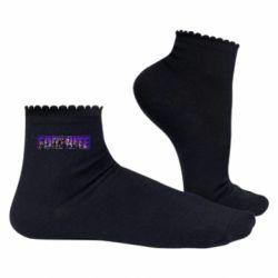 Жіночі шкарпетки Fortnite logo and image