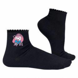 Жіночі шкарпетки Funny sushi