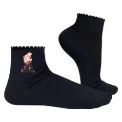 Жіночі шкарпетки Girl in a jacket