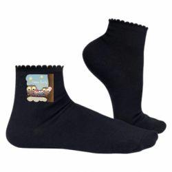 Жіночі шкарпетки Happy family