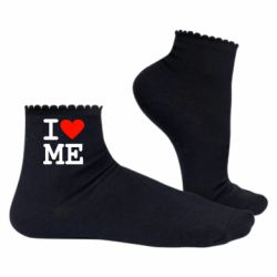Женские носки I love ME