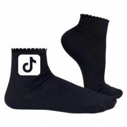Жіночі шкарпетки Иконка тик Ток