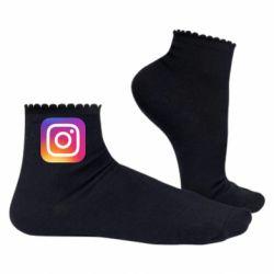 Жіночі шкарпетки Instagram Logo Gradient