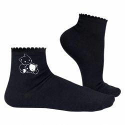 Жіночі шкарпетки кошенята