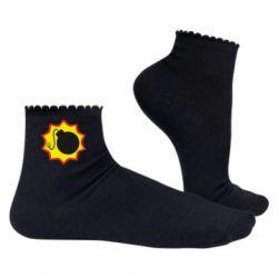 Жіночі шкарпетки Крутий Сем