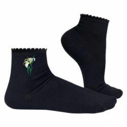 Жіночі шкарпетки Lily flower