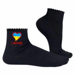Женские носки Love Ukraine