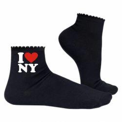Жіночі шкарпетки Люблю Нью Йорк