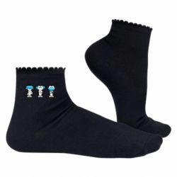 Жіночі шкарпетки Monkeys in medical masks