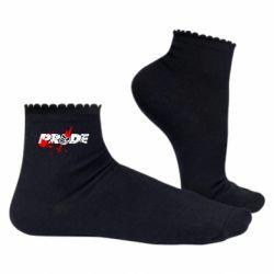 Жіночі шкарпетки Pride Logo