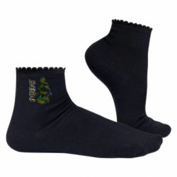 Жіночі шкарпетки Pubg camouflage silhouette