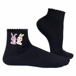 Жіночі шкарпетки Rabbits In Love