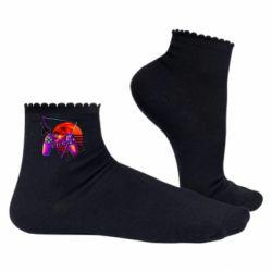 Жіночі шкарпетки Retro wave