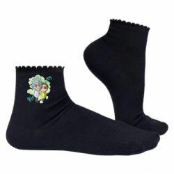Жіночі шкарпетки Rick and Morty voodoo doll