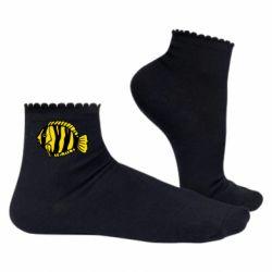 Жіночі шкарпетки рибка
