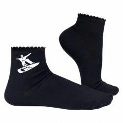 Жіночі шкарпетки Snow Board